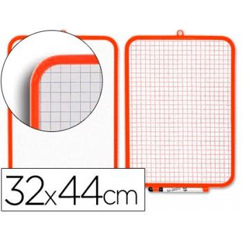 Quadro Branco com Marcador e Apagador 2 Faces 320x440mm