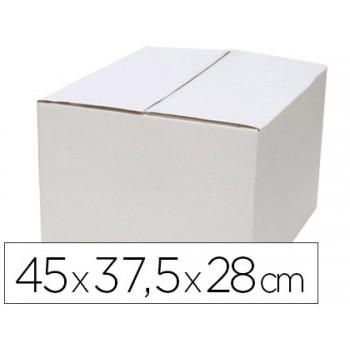 Caixa Para Embalagem Branca Regulável em Altura Duplo Canal 450x280mm