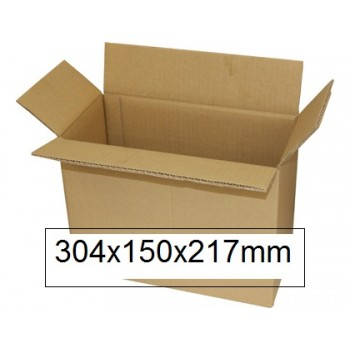 Caixa Para Embalagem Duplo Canal 304x150x217mm