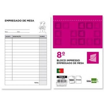 Bloco Notas de Empregado De Mesa 105x155mm Original