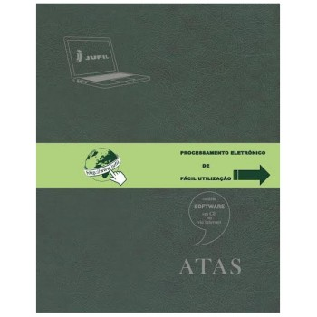Livro Actas Informatizado A4 Laser/Jacto Tinta + Software em CD JUFIL