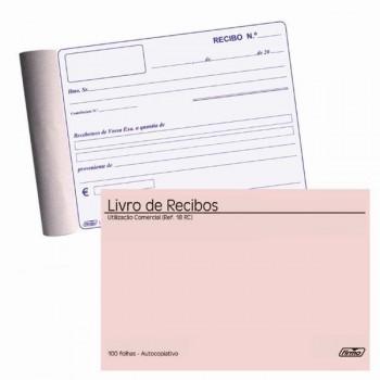 Livro Recibos 100 Folhas Ref.18 Autocopiativo