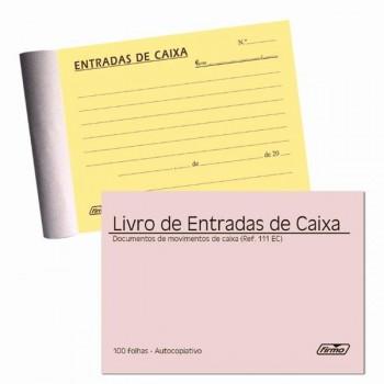 Livro Entrada de Caixas 100x100 Autocopiativo Firmo