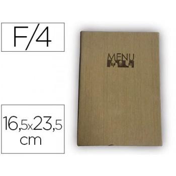 Porta Menus 16,5X23,5cm Com 4 Bolsas