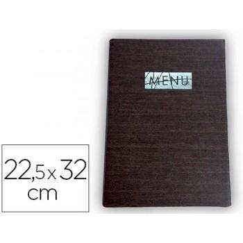 Porta Menus 22,5X32cm Com Protecção Nas Esquinas Para 2 Folhas