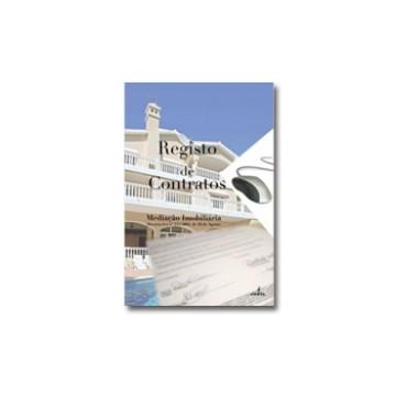 Livro de Registo de Contratos Mediação Imobiliária Escrituração Informatizada A4 Jufil