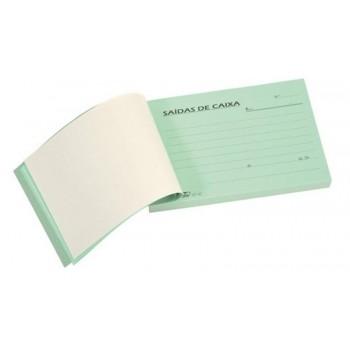 Livro Saída de Caixa 100x100 Autocopiativo Firmo