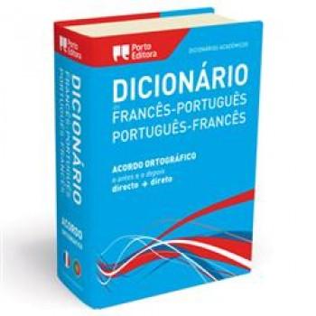 Dicionário Académico Porto Editora Português/Francês Duplo