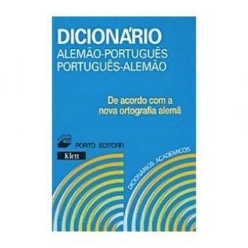Dicionário Académico Porto Editora Alemão - Português Duplo