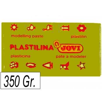 Plasticina 350G Jovi Amarelo Escuro