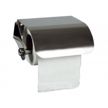 Dispensador de Papel Higiénico Aço Inoxidável 122x98x45mm Q-Connect