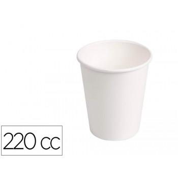 Copo de Cartão Biodegradável Branco 220cc pack 50 Unidades