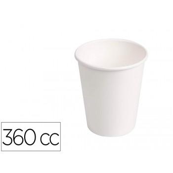 Copo de Cartão Biodegradável Branco 360cc pack 40 Unidades