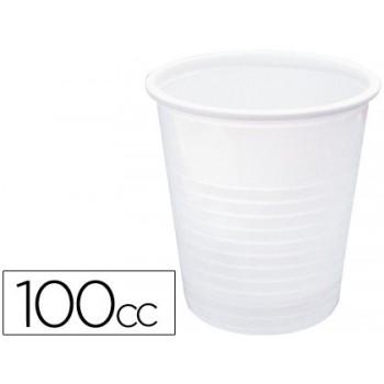 Copo de Plástico Branco 100cc Pack 100 unidades