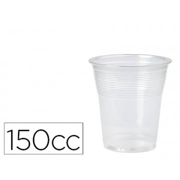 Copo de Plástico Transparente 150cc Pack 100 unidades