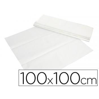 Toalhetes de Papel Branco em Folhas 100x100cm Caixa 400 Unidades