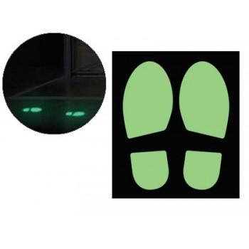 Pictograma Zona de Passagem Fotoluminescente 2 unidades