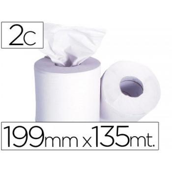 Papel para Mãos Bobine 199mmx135mt 76 diâmetro