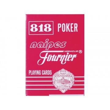 Baralho de póker inglês e bridge Fournier 818-55
