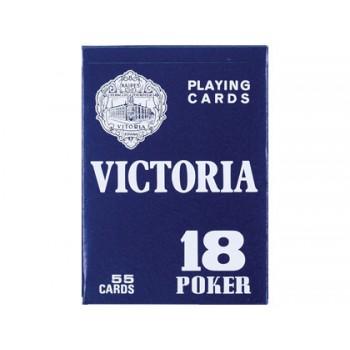 Baralho de póker inglês e bridge Victoria
