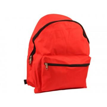 Mochila Escolar 400x300x170mm Vermelha