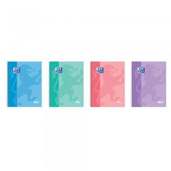 Caderno A4 Espiral 100 Folhas 90gr Pautado Write&Erase Oxford Cores Sortidas Pastel