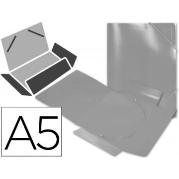 Capa A5 Com Elásticos Plástico PP 400 Microns Translúcido Transparente