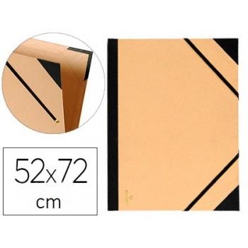 Capa de Desenho Com Elásticos 52x72cm Kraft Canson