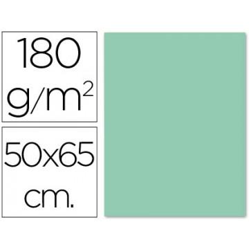 Cartolina 50X65cm 180Grs Verde 125 Unidades