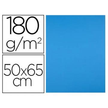 Cartolina 50X65cm 180Grs Azul 25 Unidades
