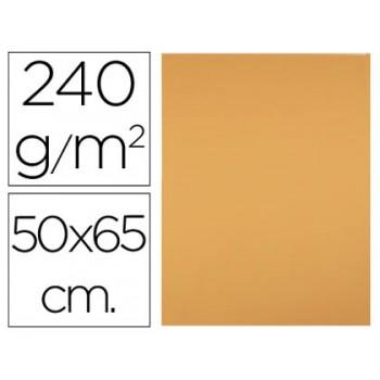 Cartolina 50X65cm 240Grs Avelã 25 Unidades