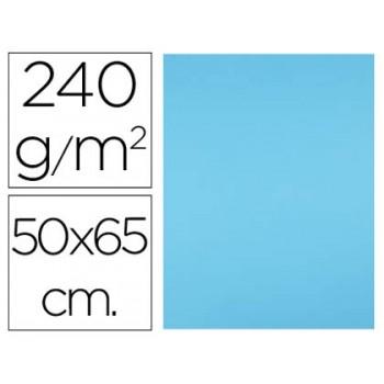 Cartolina 50X65cm 240Grs Azul Celeste 25 Unidades