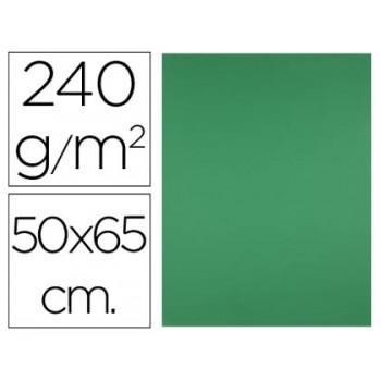 Cartolina 50X65cm 240Grs Verde 25 Unidades