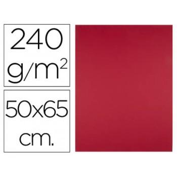 Cartolina 50X65cm 240Grs Vermelho 25 Unidades