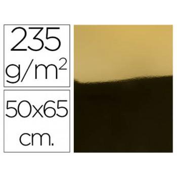 Cartolina Metalizada 50X65cm 235Grs Ouro 10 Unidades