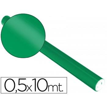 Papel Metalizado Rolo 50cmx10mt 65gr Verde Sadipal