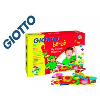 Pasta de Modelar 5x100gr Maxi com  Maquina + Acessórios Giotto Bebé