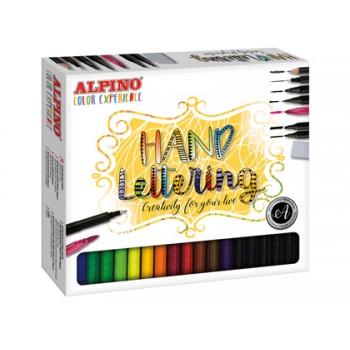 Conjunto Caligrafia Lettering Color Experience Alpino