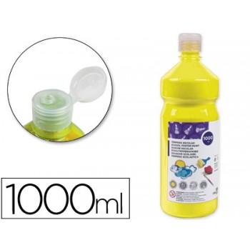 Guache 1 Litro Escolar Amarelo Primário
