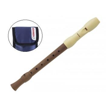 Flauta Madeira Hohner Alegra B95850 Bolsa Azul