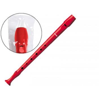Flauta Plástico Hohner 9508 Cor Vermelha
