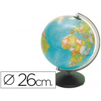 Globo Sem Luz Coral de 26 cm Diâmetro