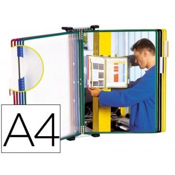 Porta Catálogos De Parede 10 Bolsas A4 Tarifold