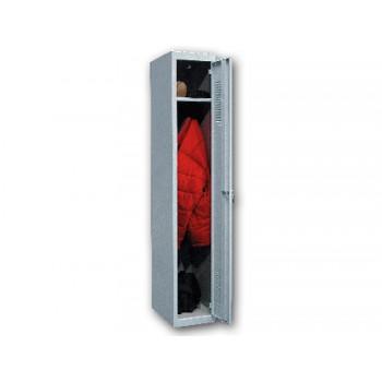 Armário Metálico Inicial 50x180x30cm 1 Porta Com Chave Cinza Ar Storage