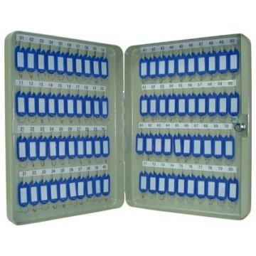 Armário Porta Chaves Metálico 80 Chaves