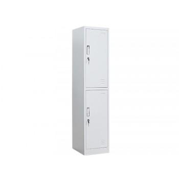 Cacifo Metálico 2 Portas Modulo Inicio Texturizado 1830x450x380mm Cinza