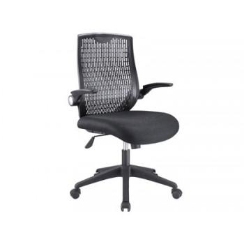 Cadeira de Direcção com Encosto Alto Preta Q-Connect