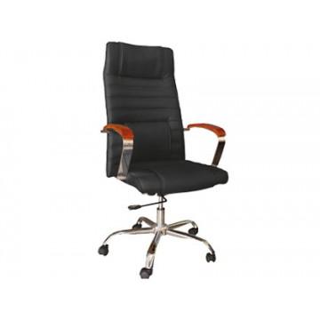 Cadeira de Direcção com Encosto Alto Preto Q-Connect
