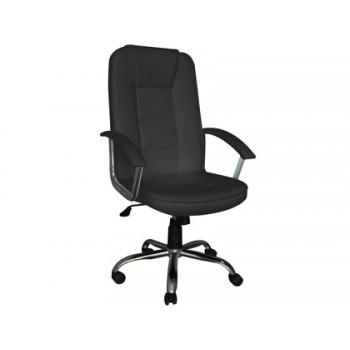 Cadeira de Direcção com Encosto Alto Regulável Q-Connect