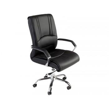Cadeira de Direcção com Rodas com Encosto Alto Rocada